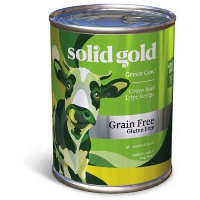 Solid Gold - Green Cow Green Beef Tripe - Canned Dog Food - 13.2 oz., Case of 12