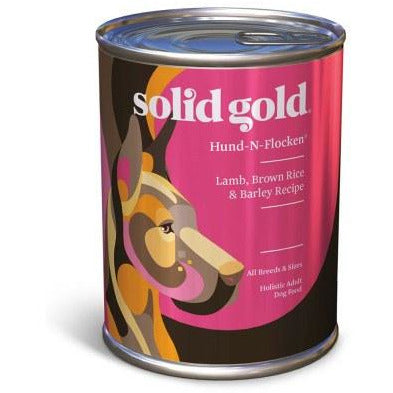 Solid Gold - Hund-N-Flocken Lamb, Brown Rice, & Barley - Canned Dog Food - 13.2 oz., Case of 12