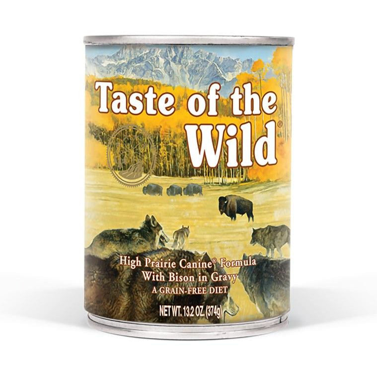 Taste Of The Wild - High Prairie - Canned Dog Food - 13.2 oz., Case of 12