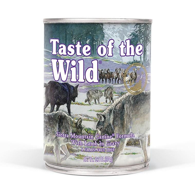 Taste Of The Wild - Sierra Mountain - Canned Dog Food 13.2 oz., Case of 12