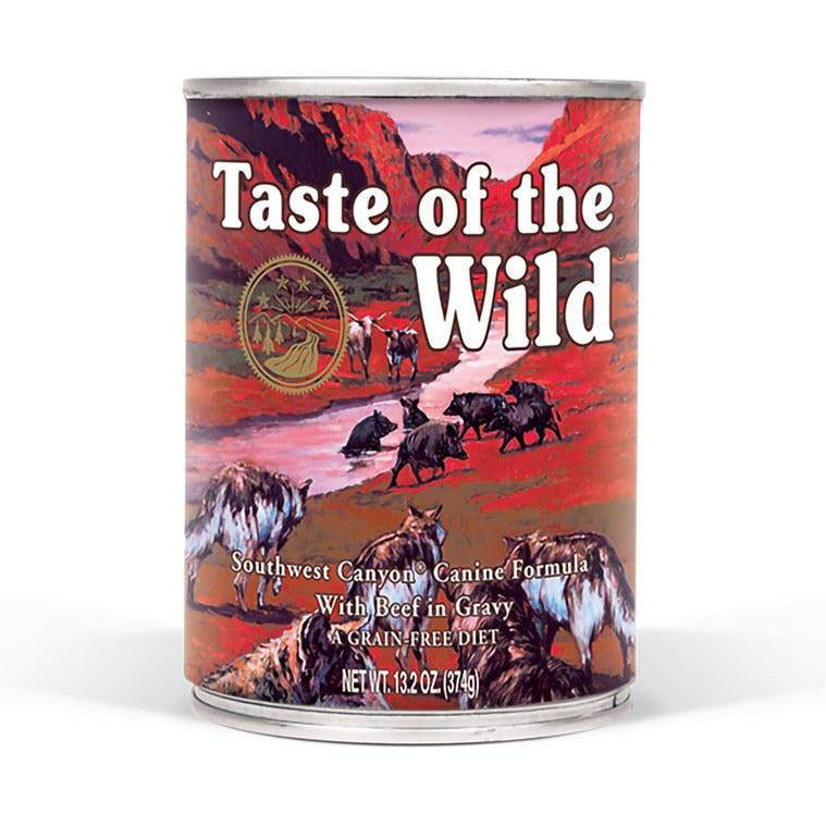 Taste Of The Wild - Southwest Canyon - Canned Dog Food 13.2 oz., Case of 12