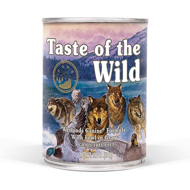 Taste Of The Wild - Wetlands - Canned Dog Food - 13.2 oz., Case of 12