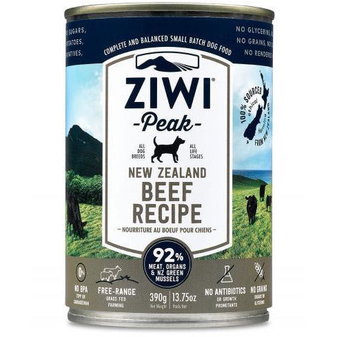 Ziwi Peak - Beef Recipe - Canned Dog Food - 13.75 Oz., Case of 12