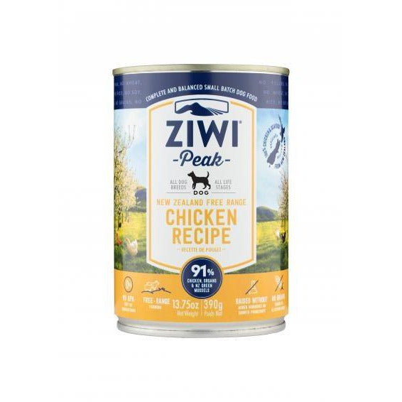 Ziwi Peak - Chicken Recipe - Canned Dog Food - 13.75 Oz., Case of 12