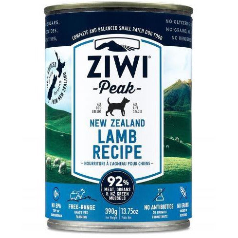 Ziwi Peak - Lamb Recipe - Canned Dog Food - 13.75 Oz., Case of 12