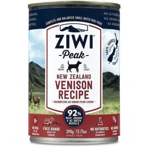 Ziwi Peak - Venison Recipe - Canned Dog Food - 13.75 Oz., Case of 12