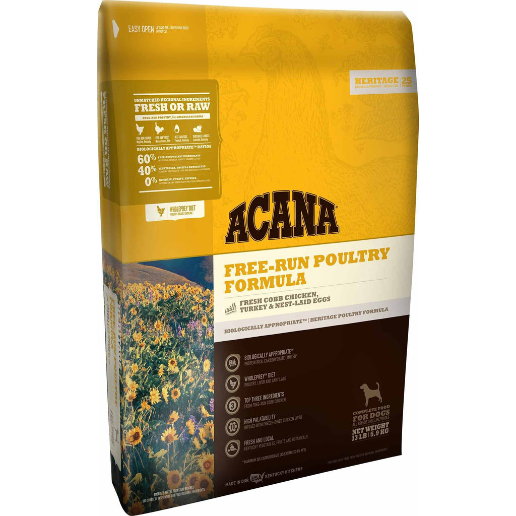 Acana Heritage Free-Run Poultry Formula Grain-Free