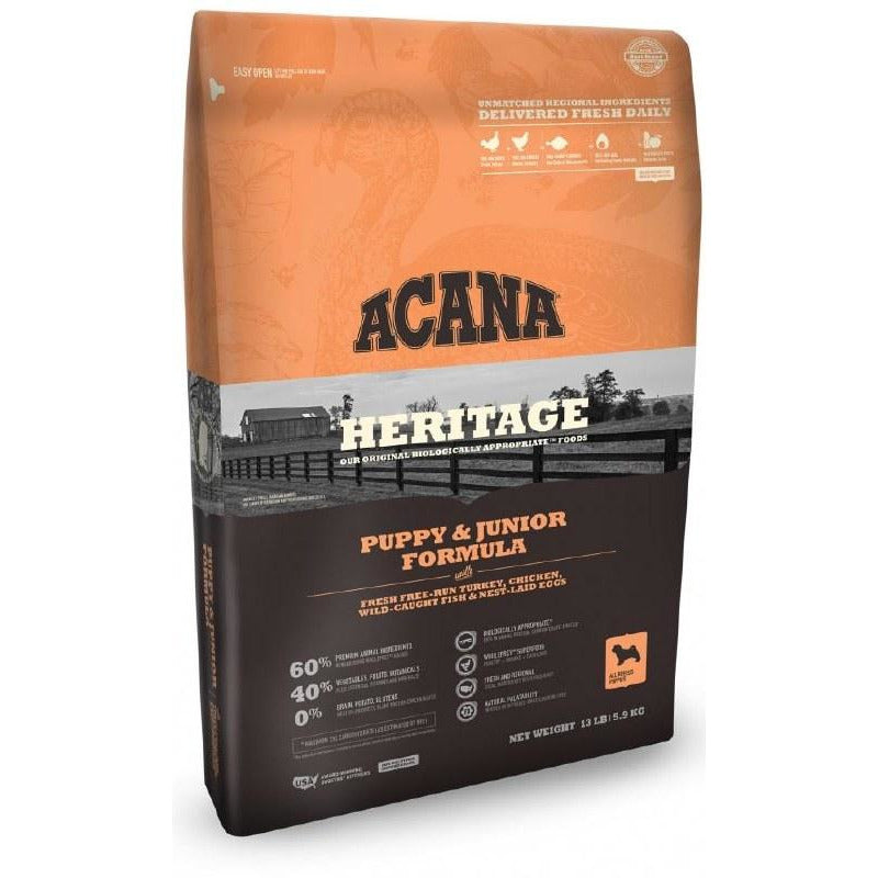Acana Heritage - Puppy & Junior - Dry Dog Food