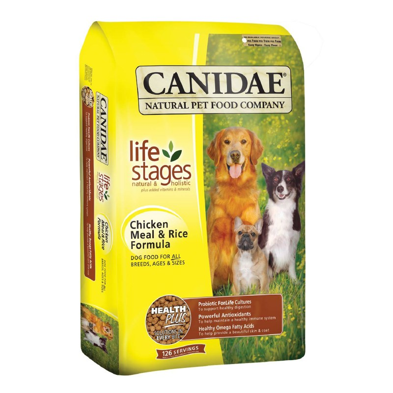 Canidae Life Stages - Chicken Meal And Rice - Dry Dog Food