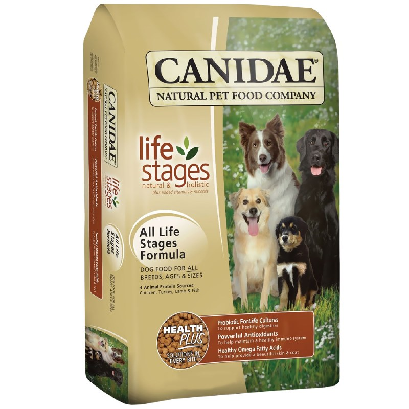 Canidae Life Stages - All Life Stages With Chicken, Turkey, Lamb & Fish - Dry Dog Food