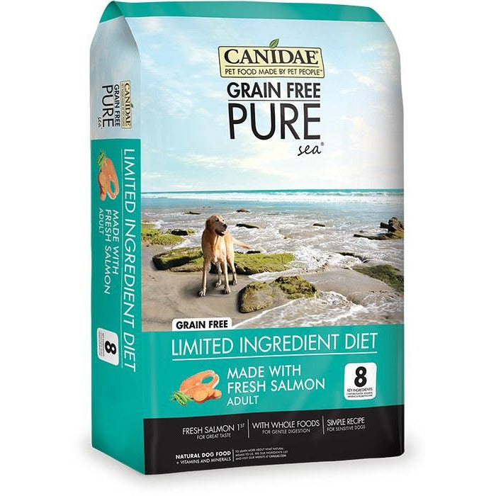 Canidae Grain Free - Pure Sea With Fresh Salmon - Dry Dog Food