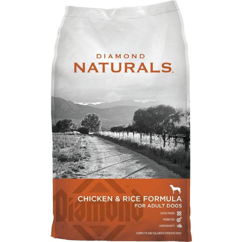 Diamond Naturals - Chicken & Rice - Dry Dog Food - 40 Lb