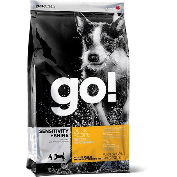 Go! Sensitivity + Shine - Duck Recipe - Dry Dog Food