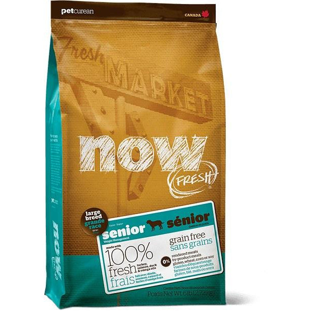 Now Fresh - Large Breed Senior - Dry Dog Food