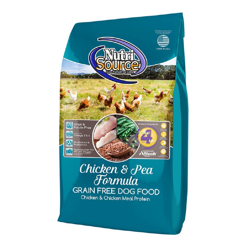 Nutrisource - Chicken & Pea - Dry Dog Food