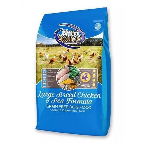 Nutrisource - Large Breed Chicken & Pea - Dry Dog Food