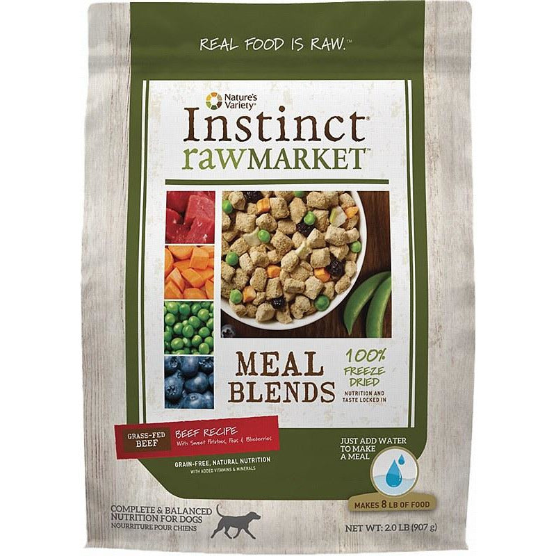 Nature's Variety Market Blends Beef Freeze Dried Dog Food