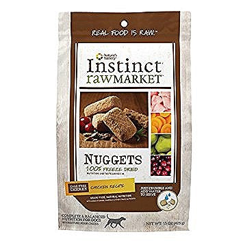 Nature's Variety Market Nuggets Chicken Freeze Dried Dog Food