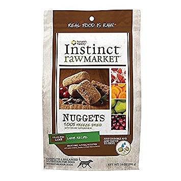 Nature's Variety Market Nuggets Lamb Freeze Dried Dog Food