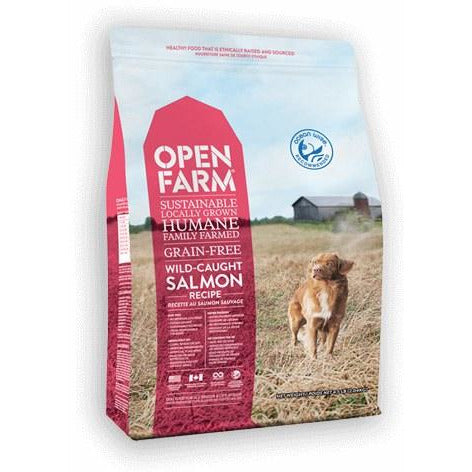 Open Farm - Salmon Recipe - Dry Dog Food
