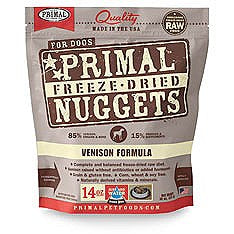 Primal Venison Freeze Dried Dog Food