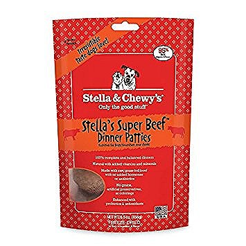Stella and Chewy's Stella's Super Beef Dinner Patties Freeze Dried Dog
