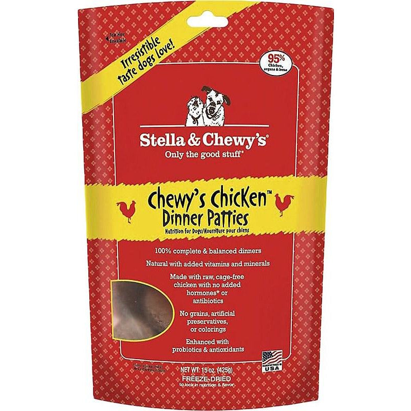 Stella and Chewy's Chewy's Chicken Dinner Patties Freeze Dried Dog Food