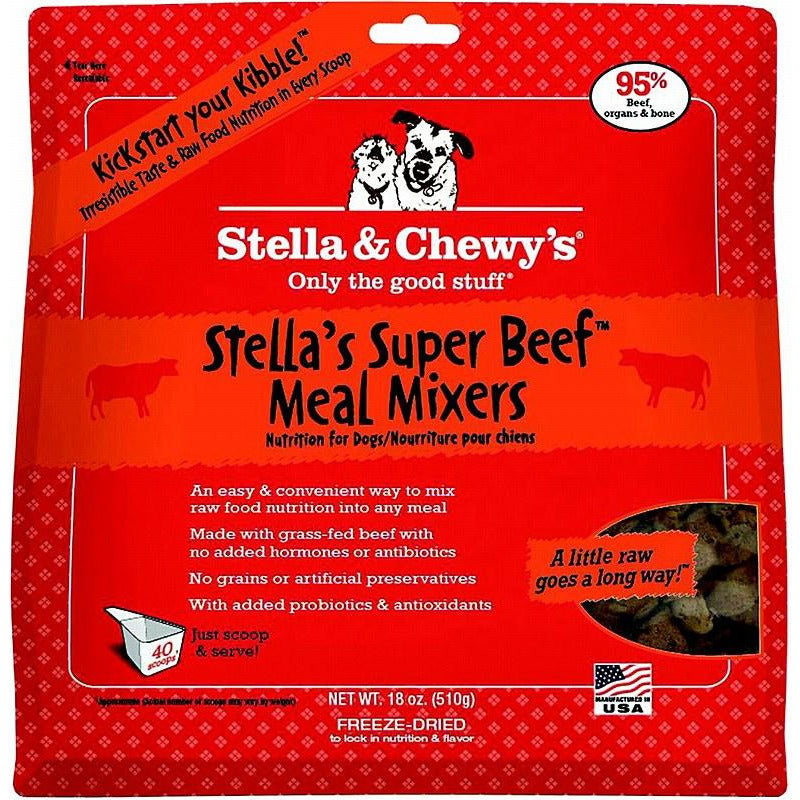 Stella and Chewy's Stella's Super Beef Meal Mixer Freeze Dried Dog Food