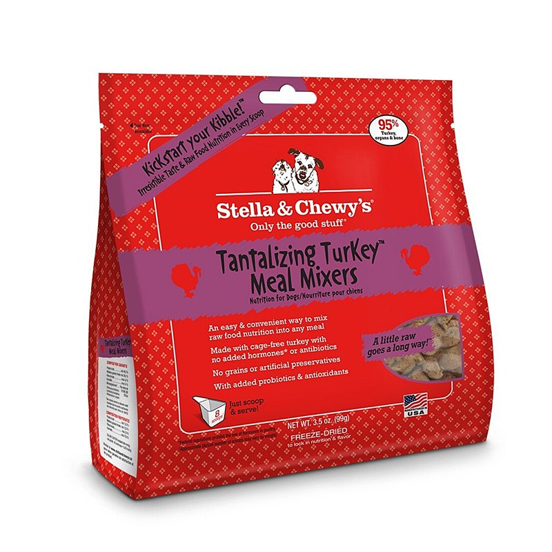Stella and Chewy's Tantilizing Turkey Meal Mixer Freeze Dried Dog Food