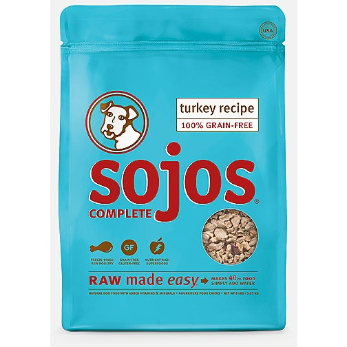 Sojos Complete Turkey Freeze Dried Dog Food