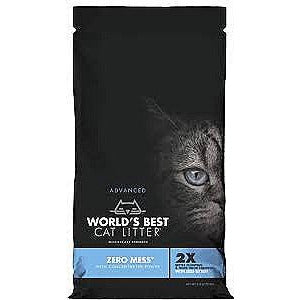 World's Best Zero Mess Clumping Litter