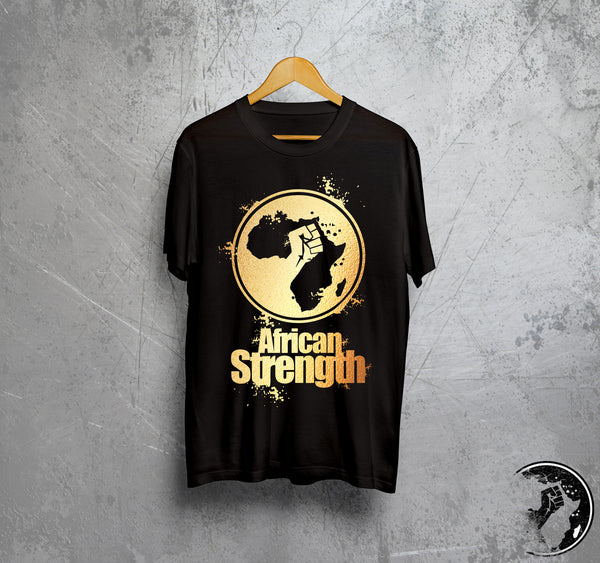 African Strength Platinum Tee