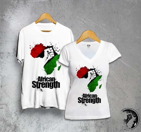 African Strength Full Color Tee