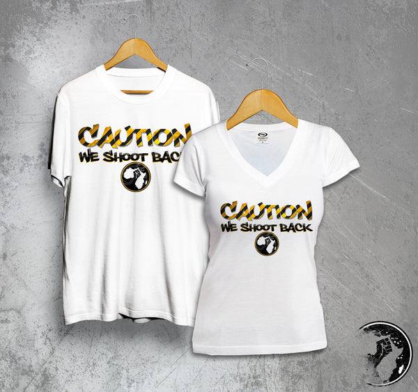 Caution Full Color Tee