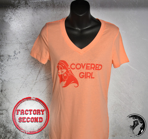 Covered Girl Discounted Tee