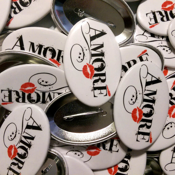 Amore Oval Support Pin