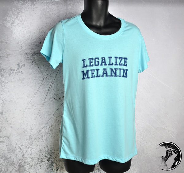 Legalize Blue Discounted Tee
