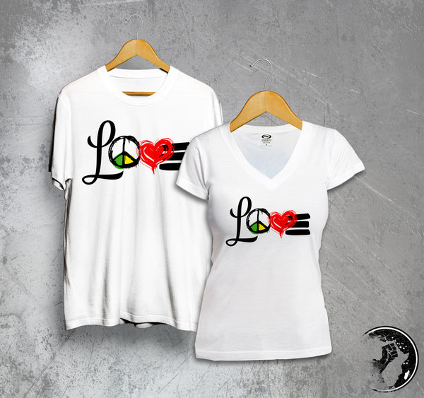 Love & Peace Full Color Tee