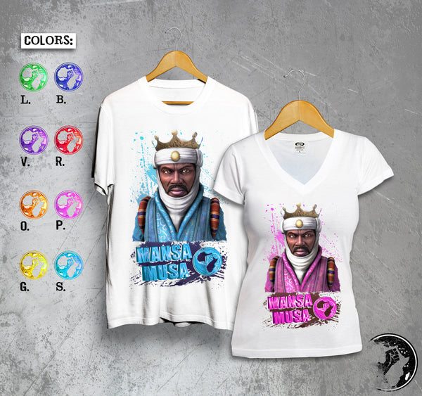 Mansa Musa Full Color Tee
