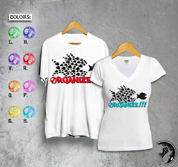 Organize Full Color Tee