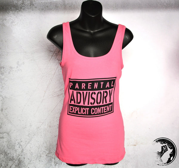 Parental Advisory Discounted Tank