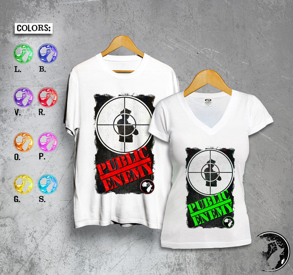 Public Enemy Full Color Tee