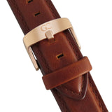 Medium Brown Leather 18mm