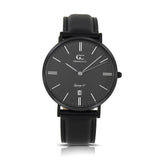 36mm Empire TL13675 Black Black Black Leather Strap Band Women's Watch