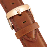 Light Brown Leather 20mm