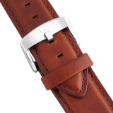 Medium Brown Leather 20mm