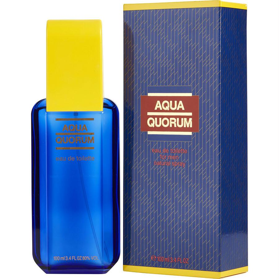 Aqua Quorum By Antonio Puig Edt Spray 3.4 Oz