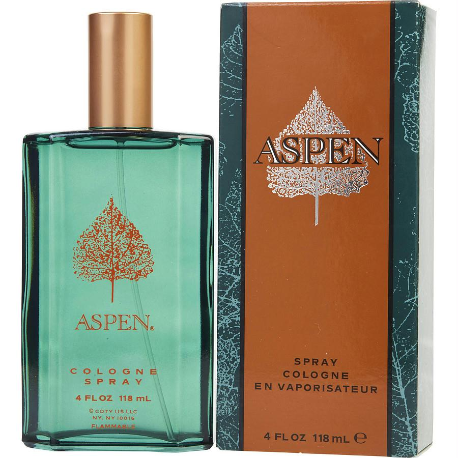 Aspen By Coty Cologne Spray 4 Oz