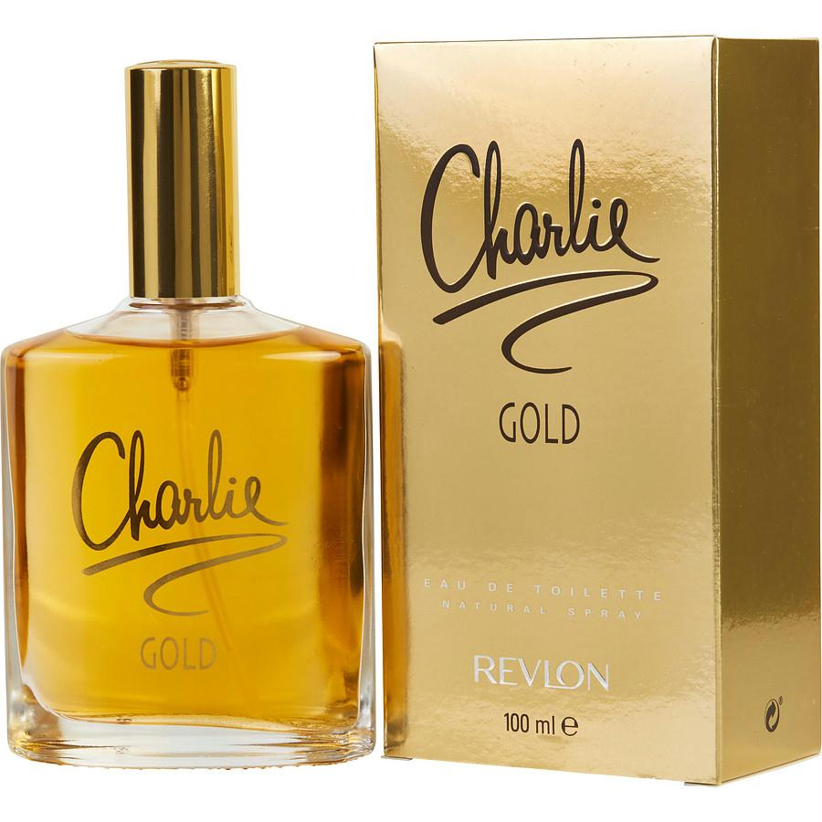 Charlie Gold By Revlon Edt Spray 3.4 Oz