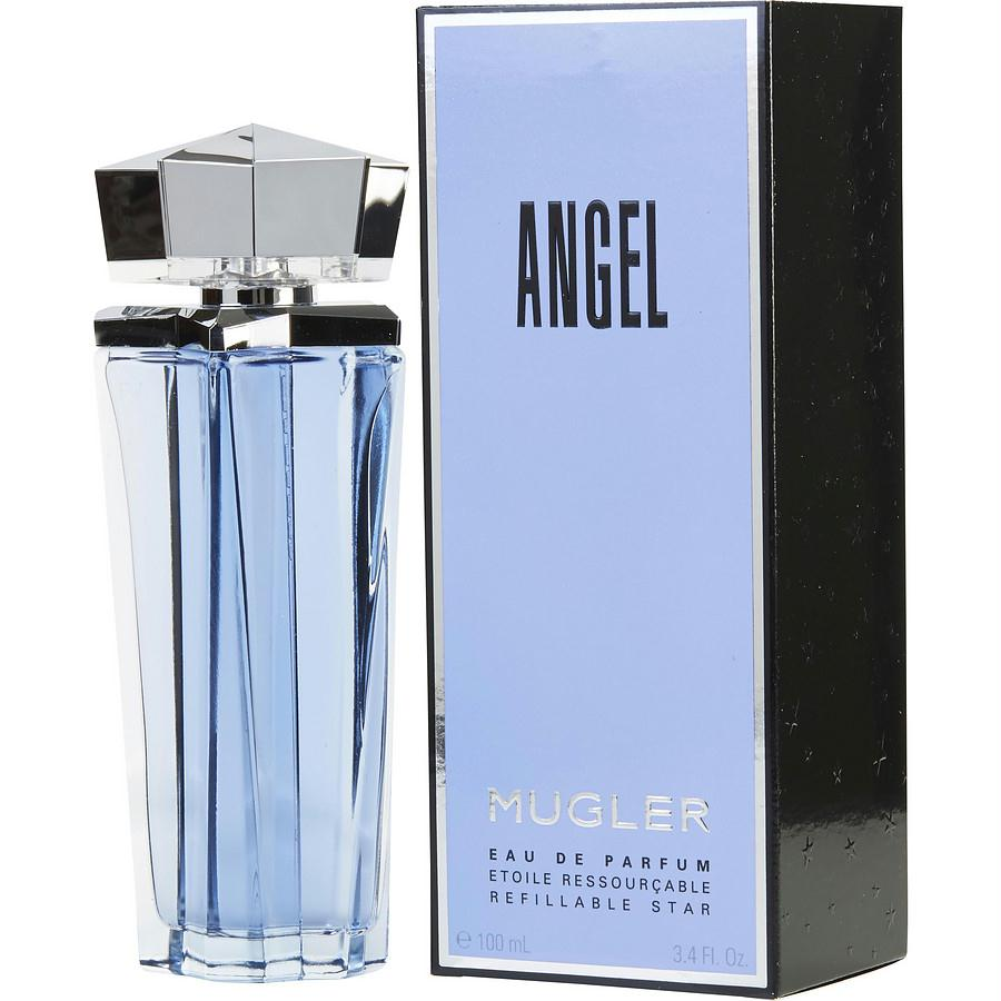 Angel By Thierry Mugler Eau De Parfum Spray Refillable 3.4 Oz